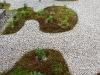 Resin bound gravel around gardenbeds