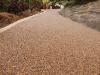 Resin bound gravel path