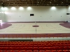 Indoor sport court flooring with Dynapoint